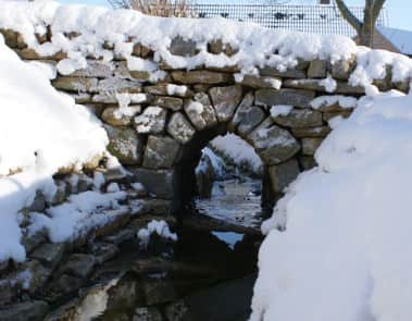 Snow Bridge Water